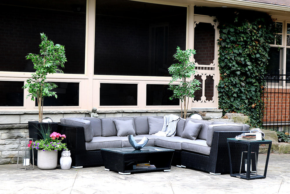 Patio Furniture Sectional WickerPark Lovett Plus