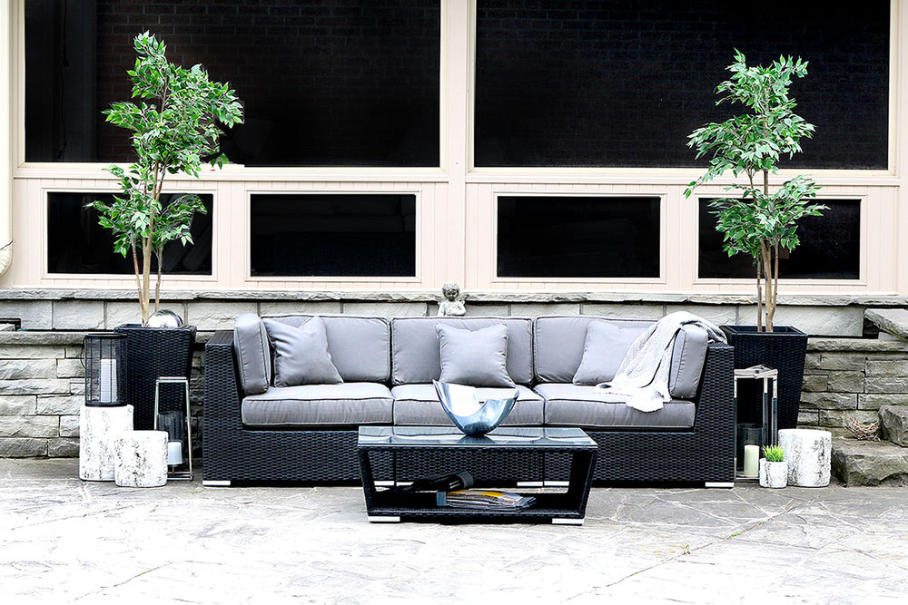 Patio Furniture Sectional WickerPark Lovett Love Sofa