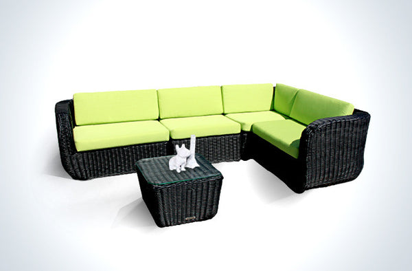 WickerPark® Castle Comb Patio Furniture Sale Toronto - Garden Green