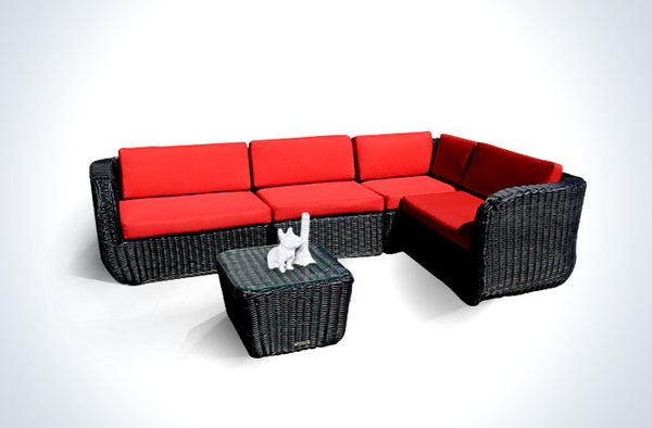 WickerPark® Castle Comb Patio Furniture Sale Toronto - Cupid's Heart