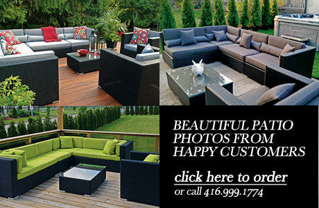 Pre Season Outdoor Patio Furniture Toronto Sale