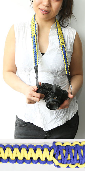 Durable Paracord camera straps by Strap550