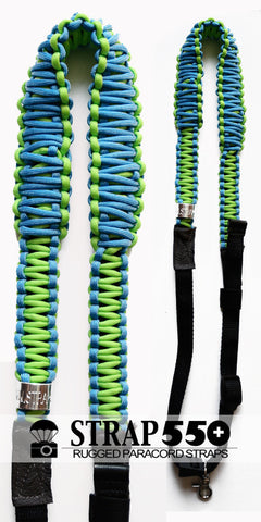 Blue and Green Preston Strap