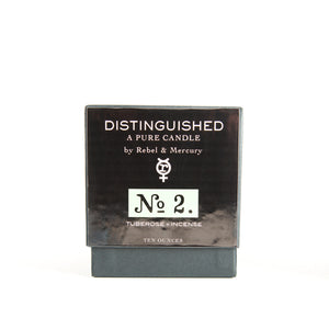 Tuberose & Incense - Distinguished No. 2 - Botanical Candle