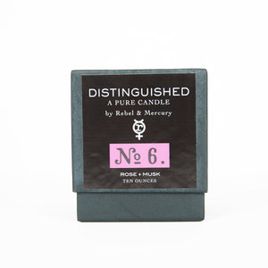 Rose & Musk - Distinguished No. 6 - Botanical Candle