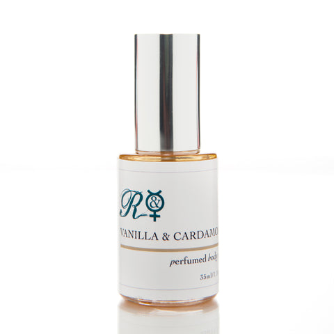 Vanilla & Cardamom Pure Organic Perfumed Body Oil