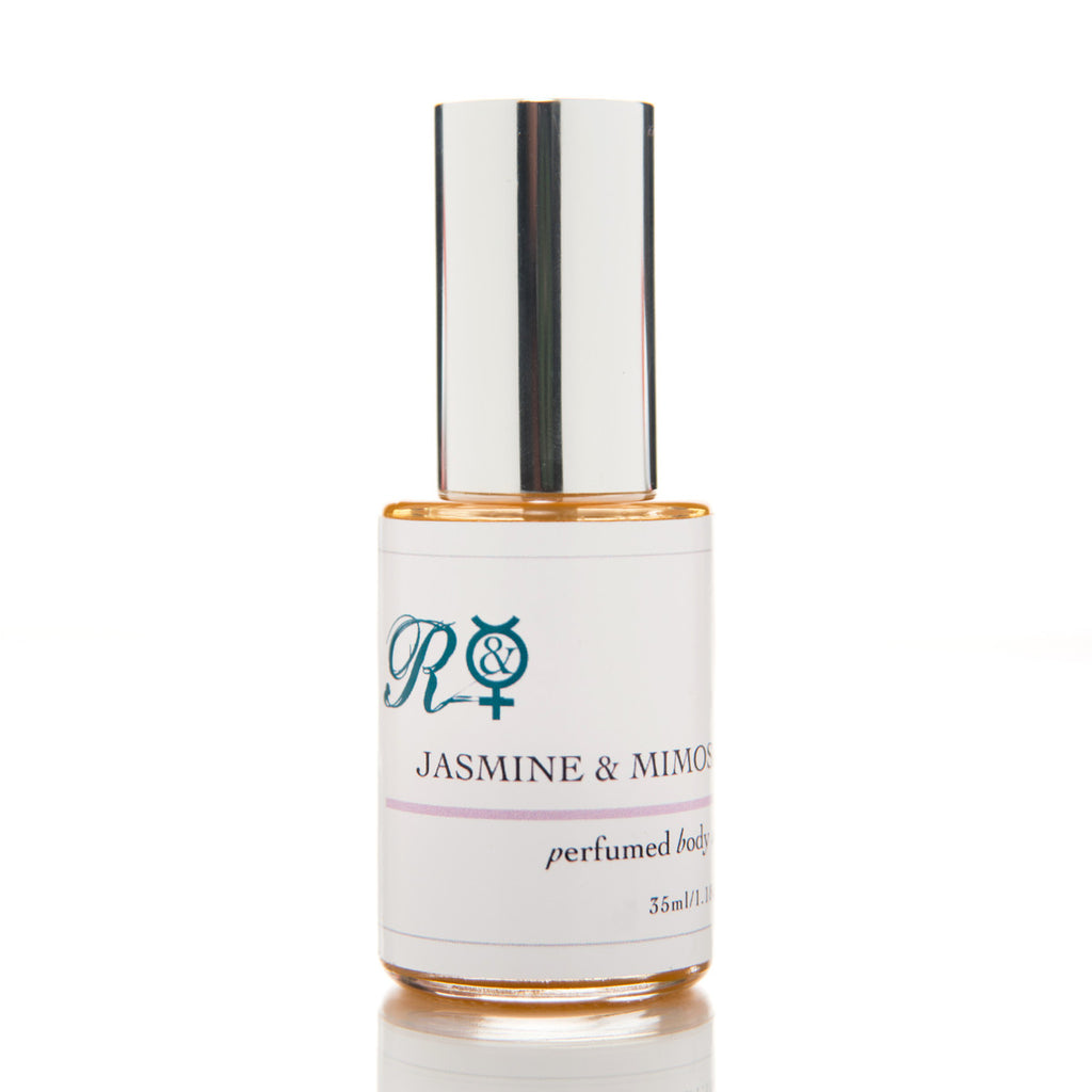 Jasmine & Mimosa Pure Organic Perfumed Body Oil