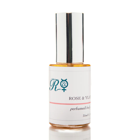 Rose & Ylang Pure Organic Perfumed Body Oil