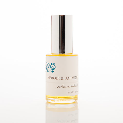 NEW! Neroli & Jasmine Pure Organic Perfumed Body Oil