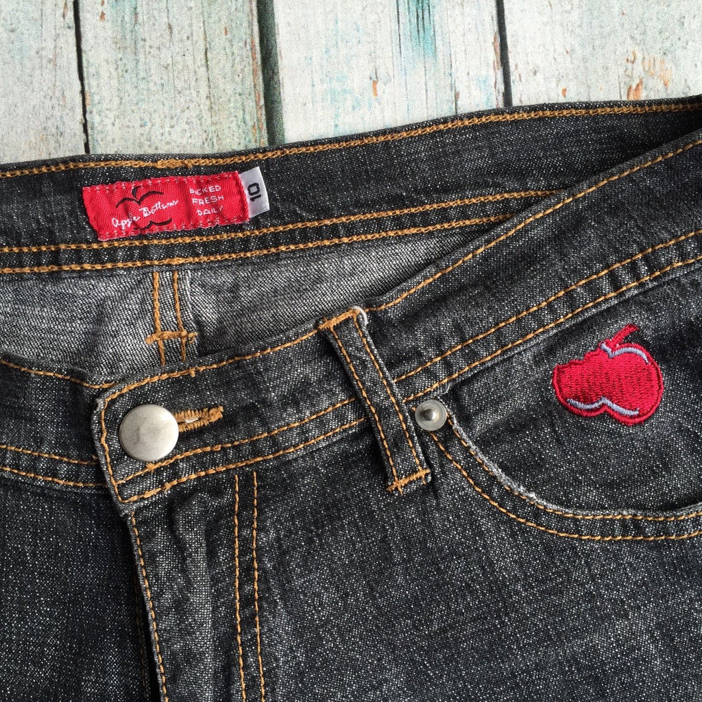 Authentic Apple Bottom Charcoal Jeans
