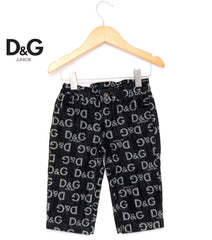 Authentic Dolce & Gabbana Brand New Baby Logo Jeans RRP $255.00