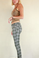 Authentic Elle Paris Tartan Pants