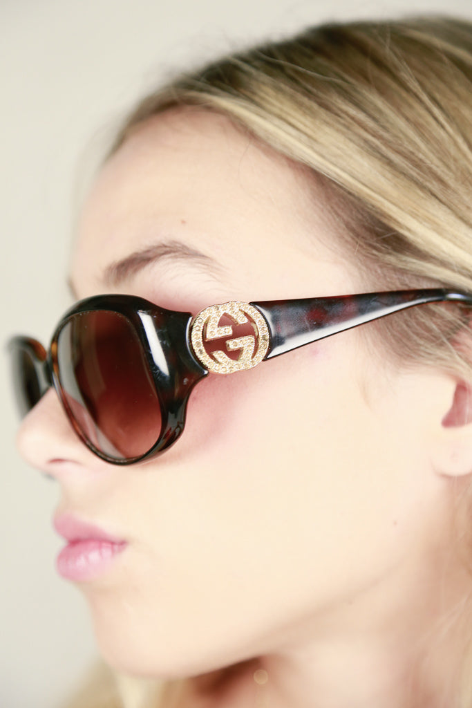 Authentic Tortoiseshell Gucci Sunglasses