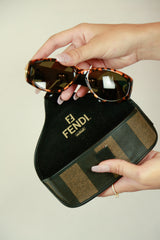 Authentic Fendi Tortoiseshell Sunglasses