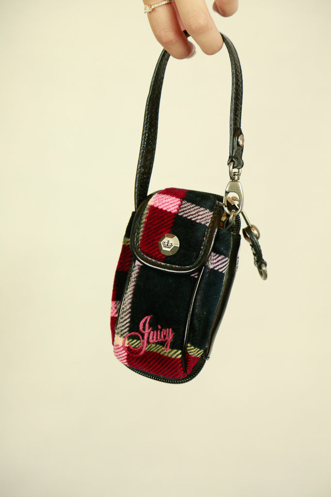 Authentic Juicy Couture Early 2000s Phone Pouch/ Mini Bag