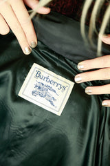Vintage Burberrys Puff Coat with Logo Embroidery