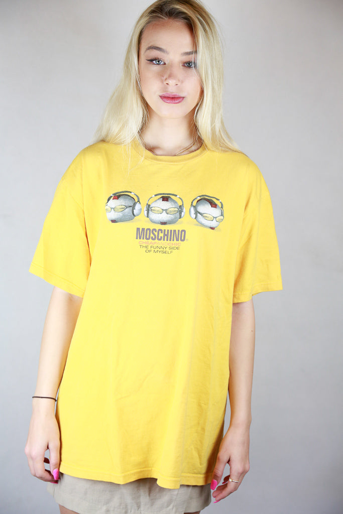 Authentic Early 2000s Moschino Cheap and Chic T-Shirt