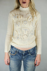 Authentic Gorgeous Nolita Pocket  Wool Logo Jumper