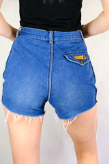 Vintage Authentic Pierre Cardin Cut-Off Denim Shorts