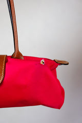Authentic Longchamp Le Pliage Red Tote Bag