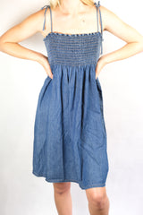 Authentic Early 2000s Zimmermann Denim Dress