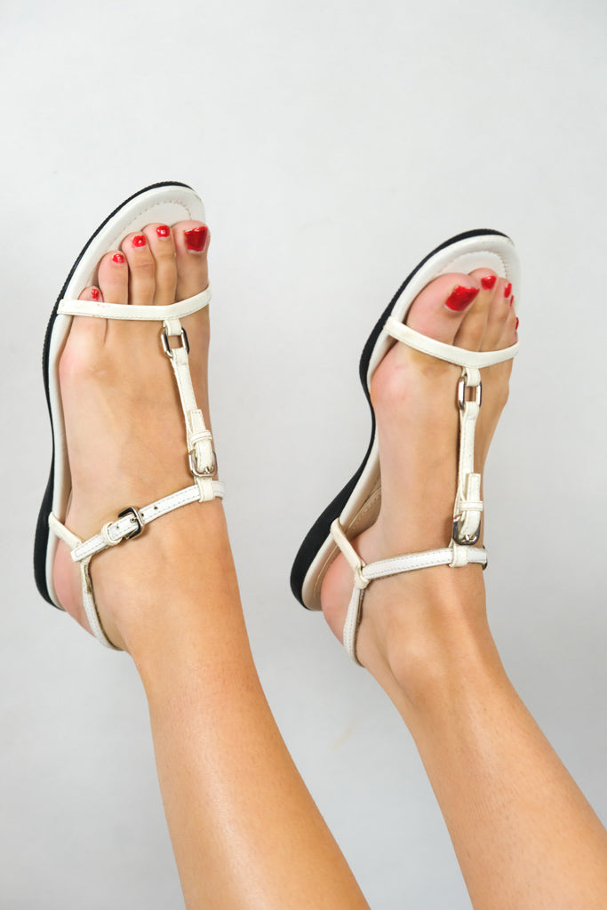 Authentic Prada Early 2000s Strappy Sandals EUR 38