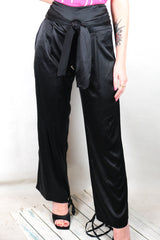Authentic Morrison 100% Silk Pants Size XS
