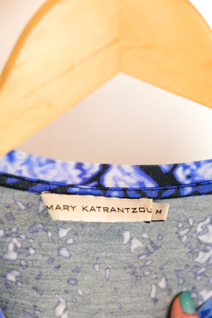 Authentic Mary Katrantzou Digitial Printed T-Shirt
