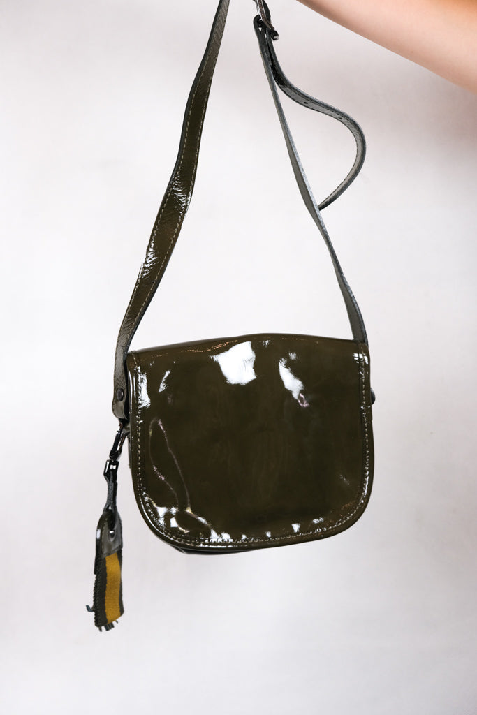 Authentic NEW Longchamp Patent Leather Side Bag