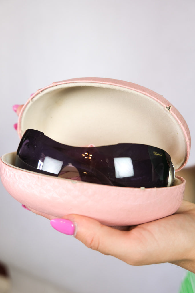 Authentic Chopard Early 2000s Crystal Sunglasses