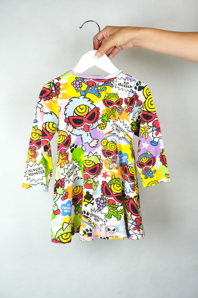 Authentic Hysteric Glamour Mini Printed Dress