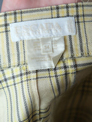 Authentic Vintage Escada Plaid Shorts