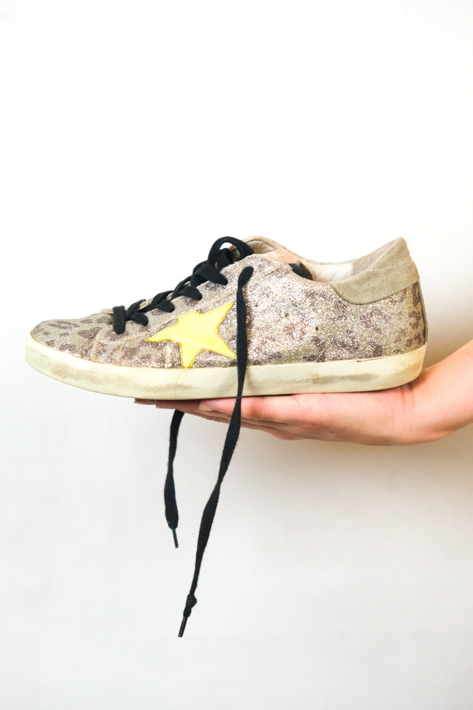 Authentic Golden Goose Deluxe Brand Leather Sneakers