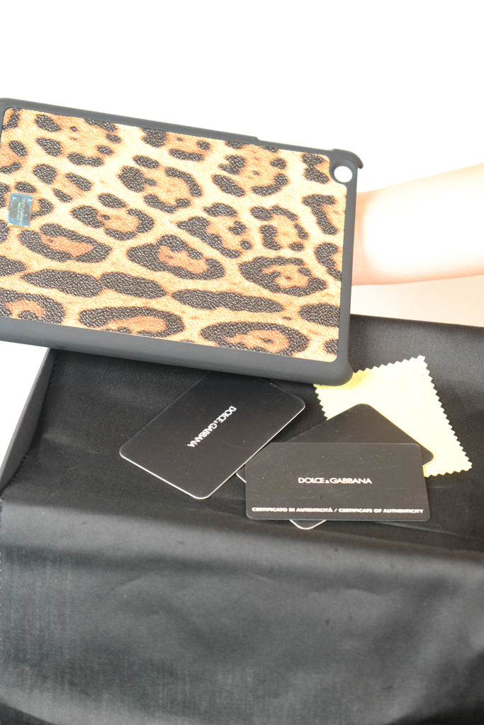 Authentic NEW Dolce & Gabbana Leopard Ipad Air Case