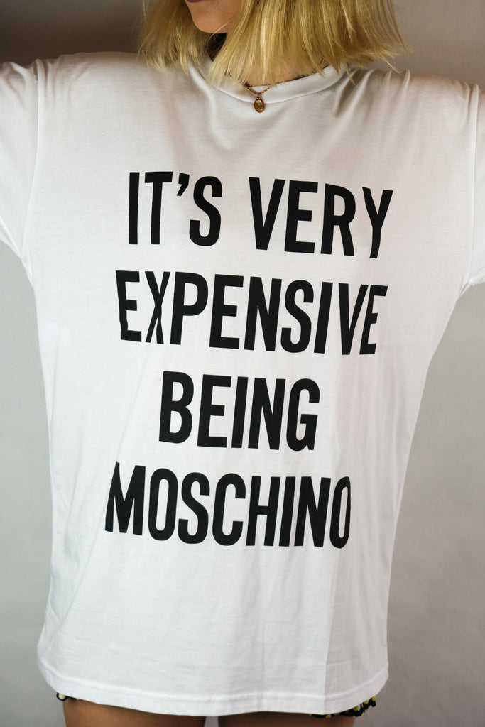 Authentic Moschino Couture BRAND NEW Logo T-Shirt