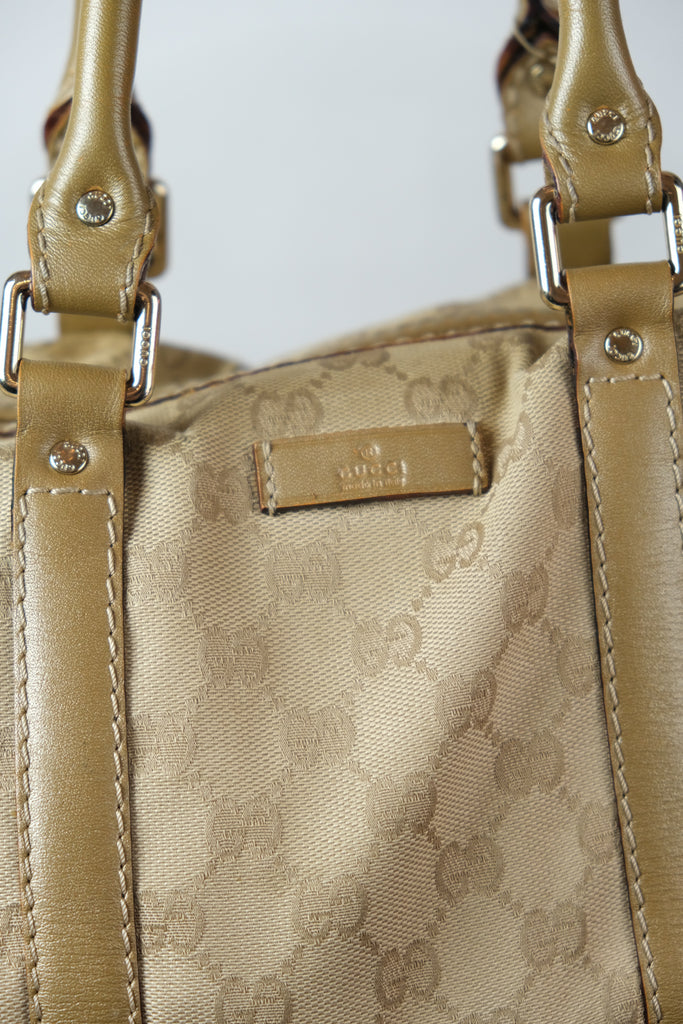 Authentic Gucci GG Monogram Joy Boston Bag