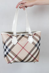 Authentic Burberry London Nova Check Bag