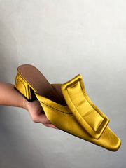 Authentic Marni Satin Bow Mules