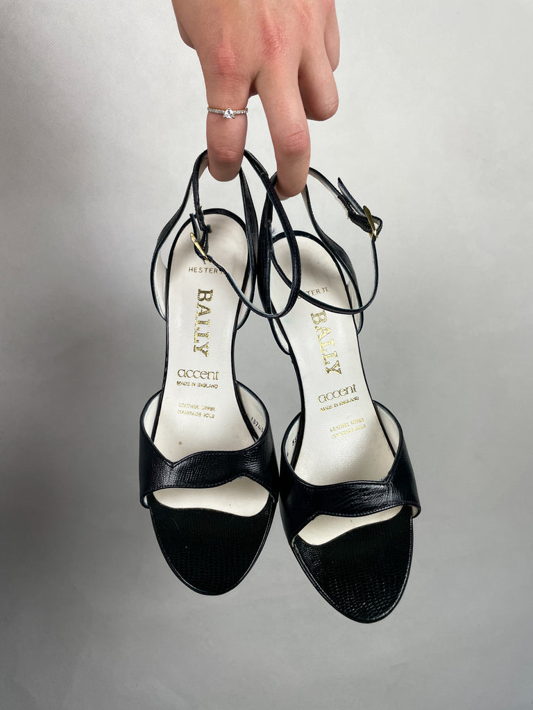 Authentic Vintage Bally Heels