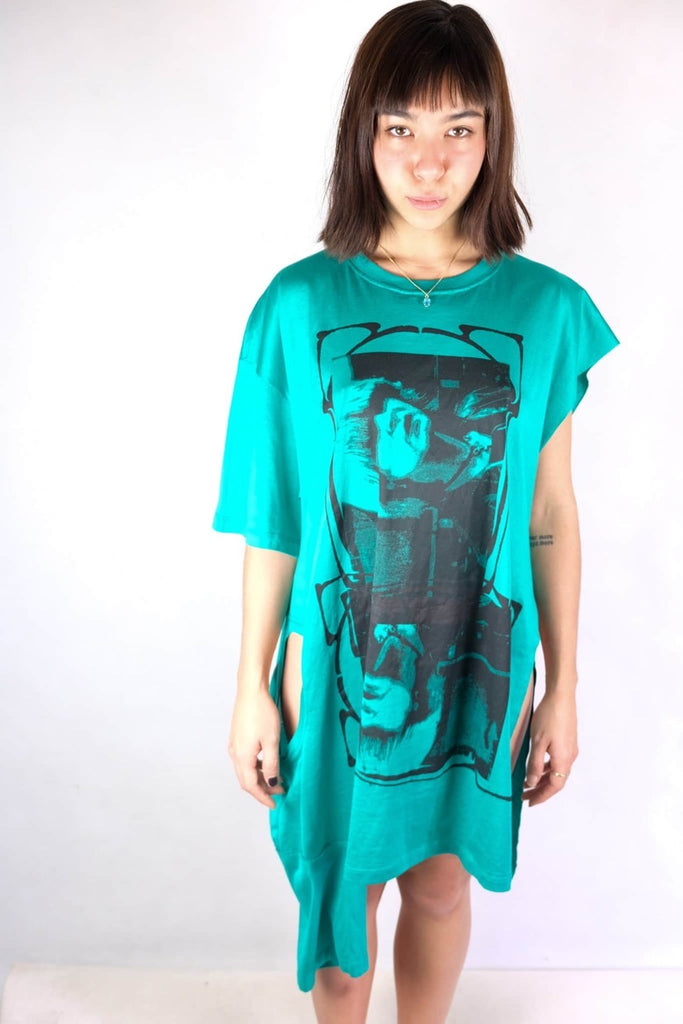 Authentic Raf Simons Double T-shirt Dress
