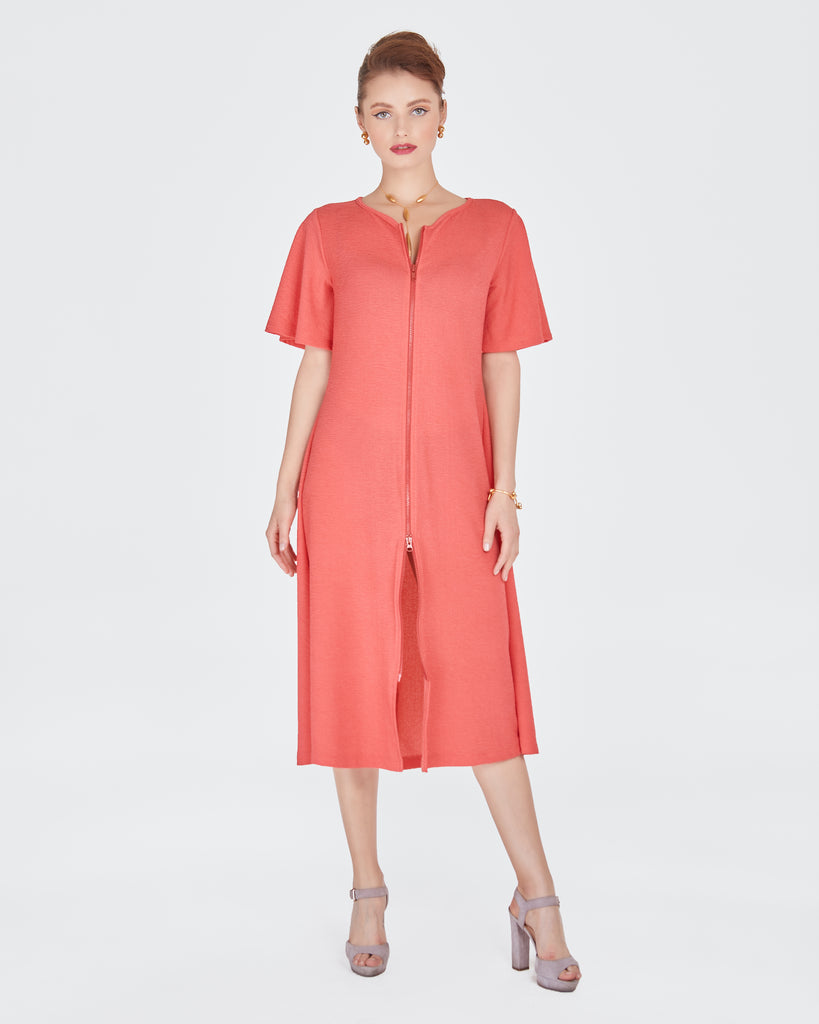 Becky Cover-Up in Coral