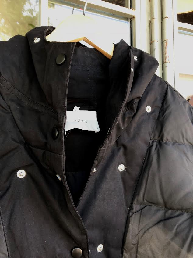 Just Female - Steal Coat in Black - XS sold out!