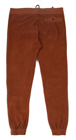 Lightning Bolt - Brown Corduroy Pant - XL Only
