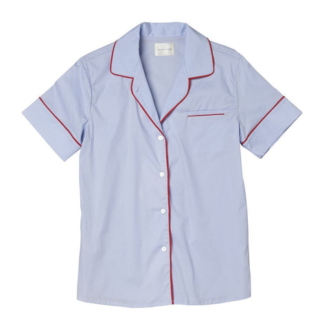Maison Du Soir - Denmark Top - Light Blue