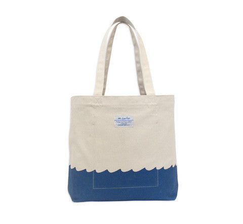M. CARTER CO. - WAVE BOTTOM TOTE