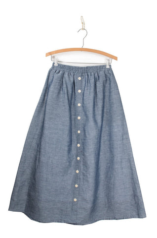 Coast - Bicycle Midi Skirt - Indigo (sizeM & L only!)