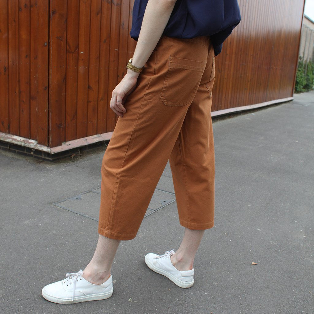LF Markey - Big Boys Canvas Cropped Workpants - size UK12 in Ultramarine only!