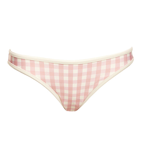 Solid & Striped - Miranda Bikini Bottom - size small in pink gingham only!