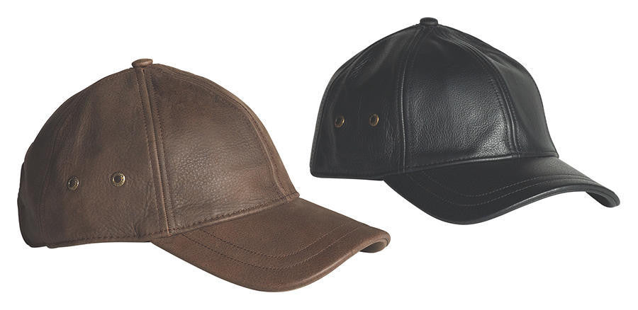 STETSON - LEATHER CAP