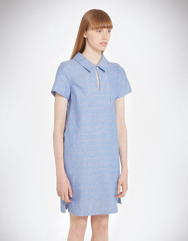 YMC - Linen Stripe Dress - Size Large Only!